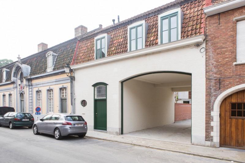 Moderne bel-étage in het historische Brugge
