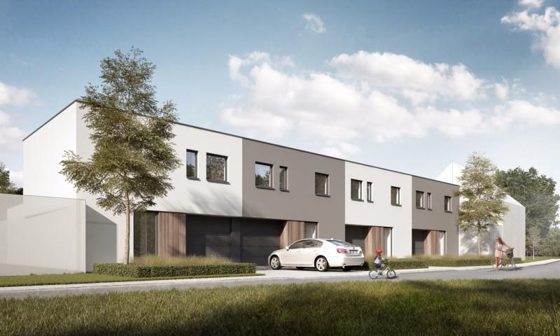4 moderne nieuwbouwwoningen met inpandige garage te Izegem