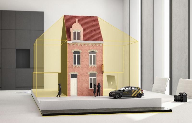 Stadswoning in centrum Veurne
