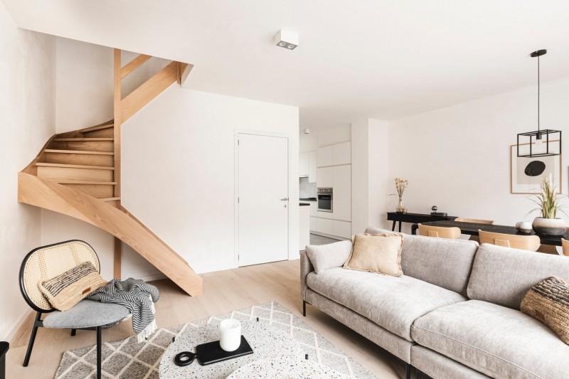 Moderne nieuwbouwwoningen op het Eilandje te Gent