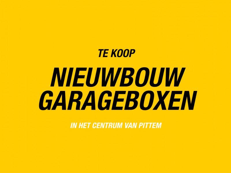 NIEUWBOUW GARAGEBOXEN IN CENTRUM PITTEM