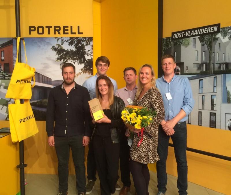 Potrell wint Marketing Award op BIS Beurs