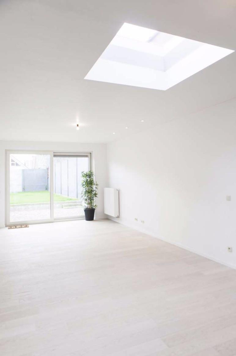 Moderne woning met tuin te kortrijk potrell wij kopen uw woning uw woning te koop - Plan indoor moderne woning ...