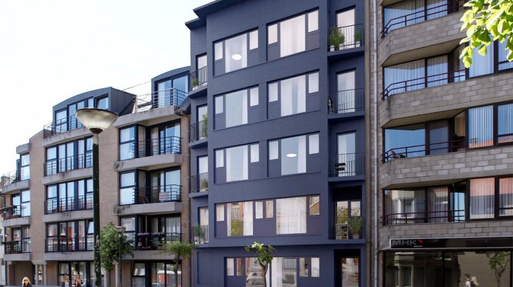 Project van 9 appartementen in De Panne