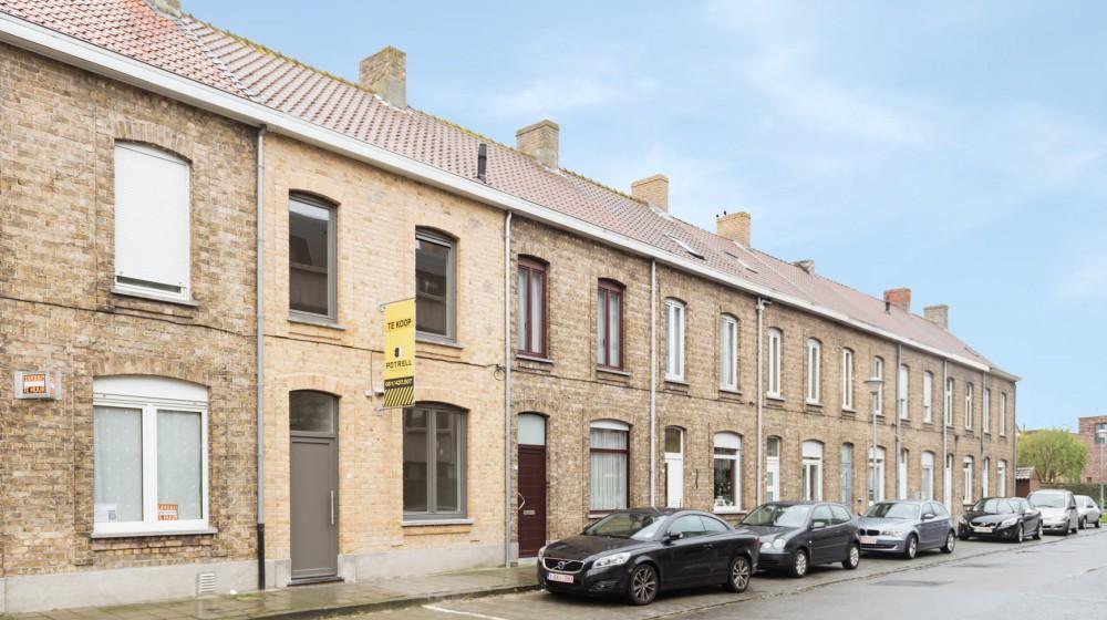 Stadswoning met terras in centrum Veurne