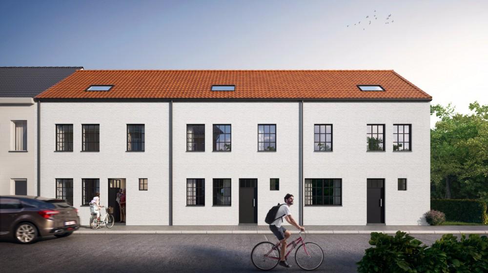 Drie hedendaagse nieuwbouwwoningen in Oudenaarde