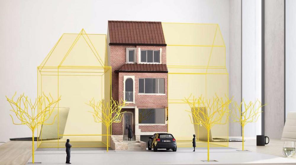 Gerenoveerde burgerwoning in Kortrijk
