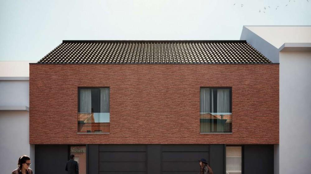 Twee woningen met tuin & garage in Wevelgem