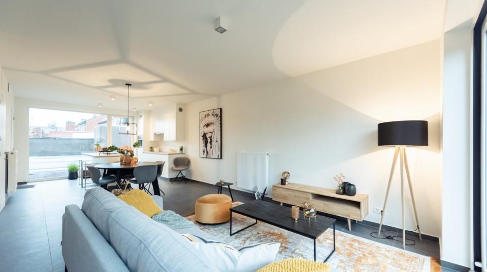 Fantastische afgewerkte nieuwbouwwoning met 3 slaapkamers te Ardooie met garagebox
