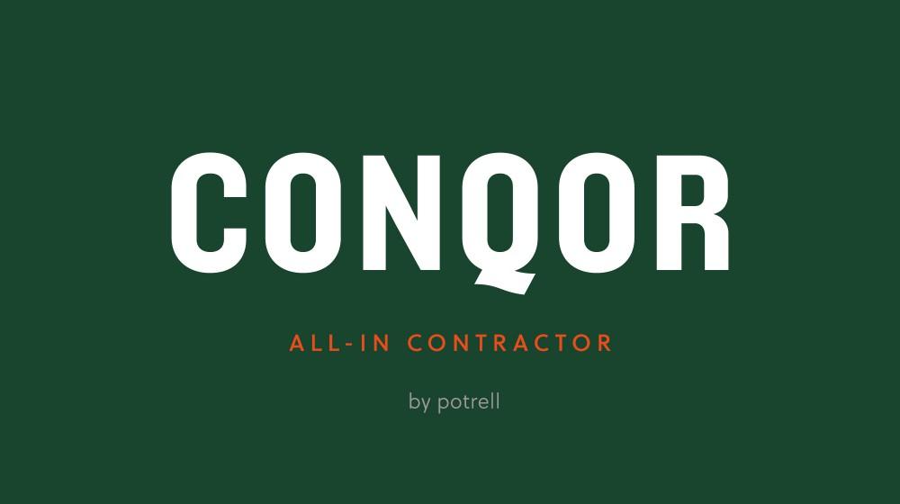 CONQOR by Potrell totaalrenovatie