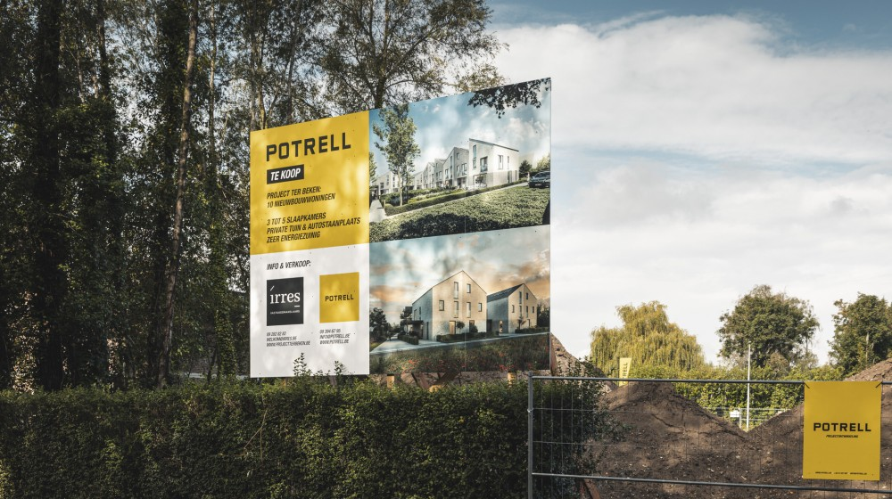 Projectontwikkeling Potrell - nieuwbouwproject Gent