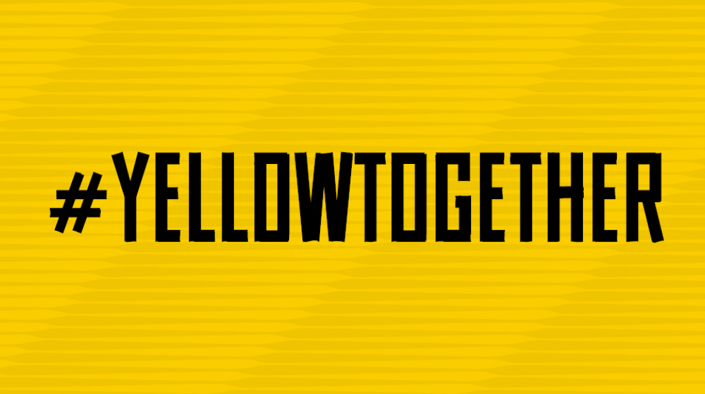 Potrell WK voetbal #yellowtogether