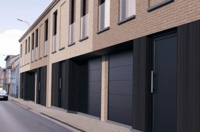 Woonproject van 4 nieuwbouwwoningen met garage in Pittem
