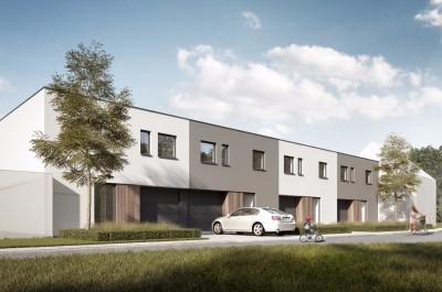 4 moderne nieuwbouwwoningen met inpandige garage te Kachtem