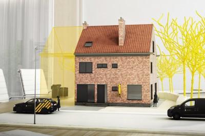 Exclusieve burgerwoning met tuin in Gent
