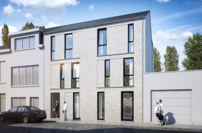 Project van 2 tijdloze woningen in Gent