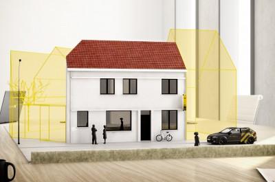 Renovatiewoning in het centrum van Tielt