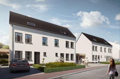 Project van 4 nieuwbouwwoningen te Gullegem