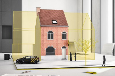 Vernieuwde gezinswoning met tuin in Oudenaarde