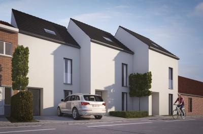 Project van 3 nieuwbouwwoningen in Deinze