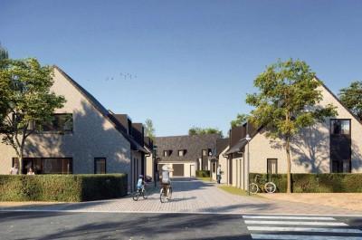 WOONERF DE POST, 7 nieuwbouwwoningen met tuin te Heusden