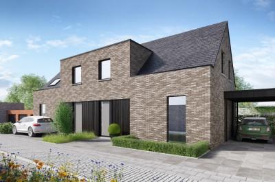 LAATSTE WONING TE KOOP - Twee nieuwe gezinswoningen in Bulskamp (Veurne)