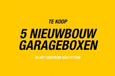 5 NIEUWBOUW GARAGEBOXEN IN CENTRUM PITTEM