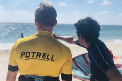 Potrell sponsort sportevenement