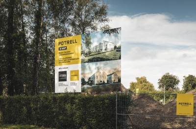 Projectontwikkeling Potrell - nieuwbouwproject Gent